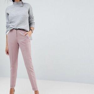 ASOS High Rise Pink Pant